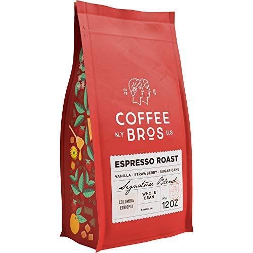 Amazon Com Coffee Bros Espresso Coffee Beans Whole Bean Coffee 100 Arabica Coffee Beans Gourmet Coffee Vibrant Smooth 12oz Grocery Gourmet Food