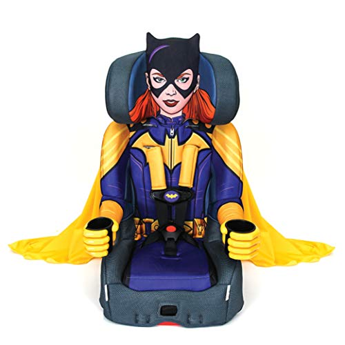 Seats Disney Car (KidsEmbrace 2-in-1 Harness Booster Car Seat, DC Comics Batgirl)