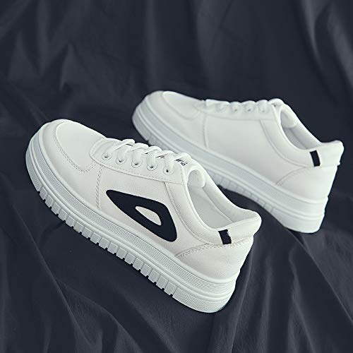 WFCAYDHN Casual Shoes Little White Shoes Sneakers Artificial PU Ladies Sizes Thirty-seven