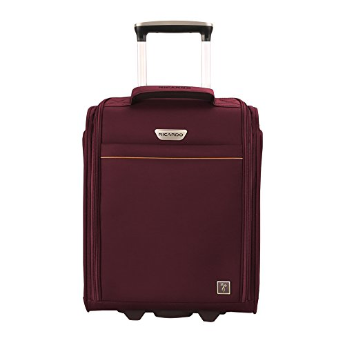 Ricardo Beverly Hills Mar Vista 2.0 16-Inch Under Seat Rolling Travel Tote Wine