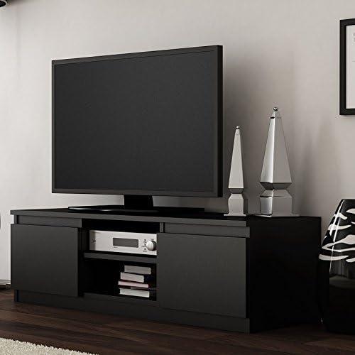 Moderno TV Media unidad de almacenamiento. TV Soporte. Se adapta ...