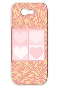 Retro Love Hearts Hearts Heart Blackcat2 White Dirtproof Case Cover For Sumsang Galaxy Note 2 Four