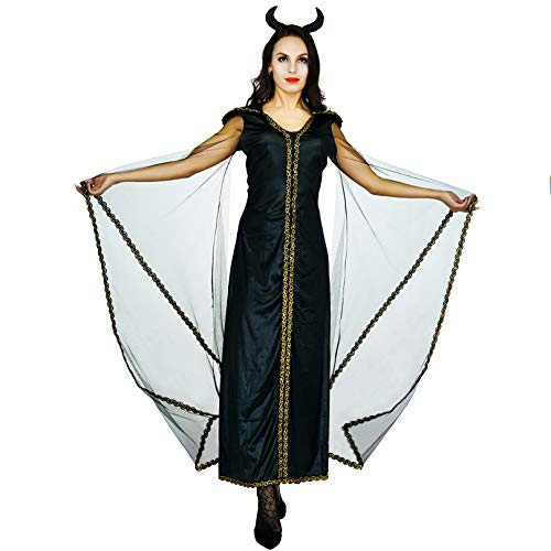 flatwhite Halloween Women's Devil Costumes Fancy Dress (S) -