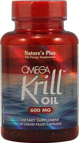 Nature's Plus Omega KrillT Oil -- 600 mg - 60 Liquid Capsules - 2PC by Nature's Plus. Omega Krill Oil - 60 - Cap (3 Pack)
