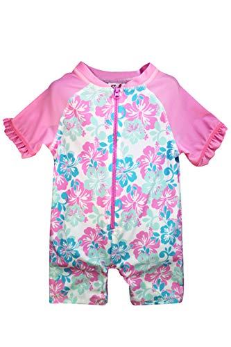 (Sol Swim Tropical Birds Bodysuit for Girls, Girls Swimwear, Swimsuits for)