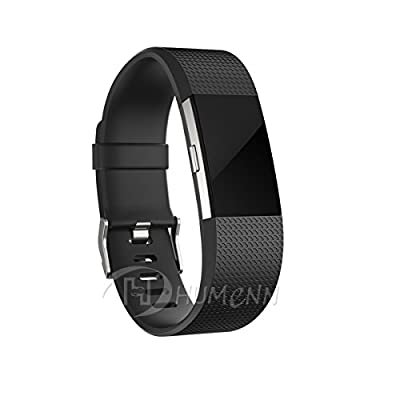 Bands for Fitbit Charge 2, Classic Fitness Replacement Accessories Wrist Band for 2016 Fitbit Charge 2 HR, 10 Colors