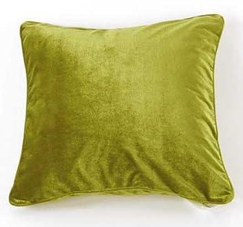 Moderne Kissenbezüge kissen grün 56x56 cm velvet moderne kissenhülle kissenbezüge mit