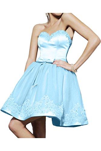 Toscana novia dibujos con dos-Traeger gasa por la noche vestidos de fiesta vestido de fiesta largo vestidos de bola Azul