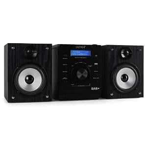 Denver MCA-220 Equipo de sonido estéreo microcadena Hifi (CD, Radio, DAB) (importado)