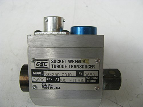 Torque Socket Transducer - GSE Socket Wrench Torque Transducer 100 ft lbs - GSE21