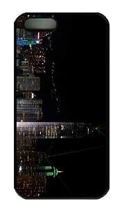 iPhone 5S Case - Customized Unique Design Planet Scenes 3 New Fashion PC Black Hard by icecream design