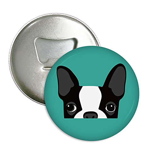 (Candy House Refrigerator Magnets Beer Bottle Opener Coke Bottle Wine Soda Openers Pocket Size - Boston Terrier)