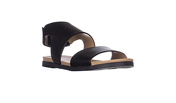 79e79d0d5acc Naturalizer Kimono Flat Sandals - Black Smooth