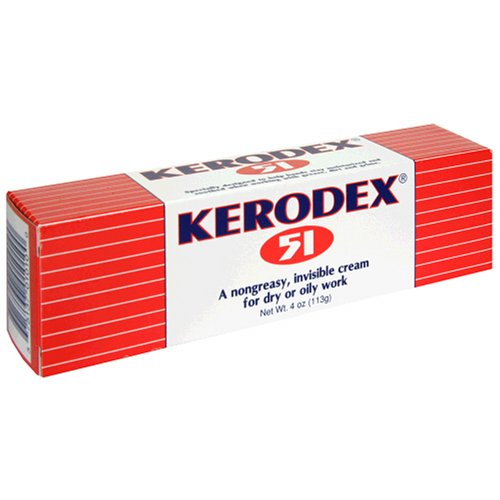 Medtech Products Kerodex 51 for Dry or Oily Work, Cream, 4 oz (113 g) (Pack of 4) by Kerodex