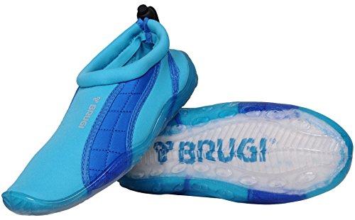 Türkis Surfshuhe 2SA9 Wassersportshuhe Brugi Badeshuhe Sailing Aquashuhe w4Tq1O7x