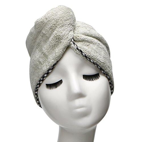 YYXR Microfiber Hair Drying Towel Ultra Absorbent Twist Hair Turban Drying Cap Hair Wrap - How To Wrap Long Hair