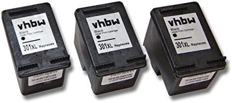 vhbw 3X Cartuchos de Tinta Negra Compatible Cartucho de ...