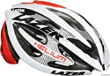 Lazer Helium Helmet White/Red, L For Sale