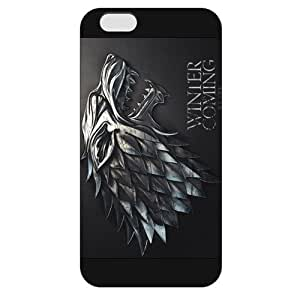 UniqueBox - Customized Personalized Black Frosted iPhone 6 Plus 5.5