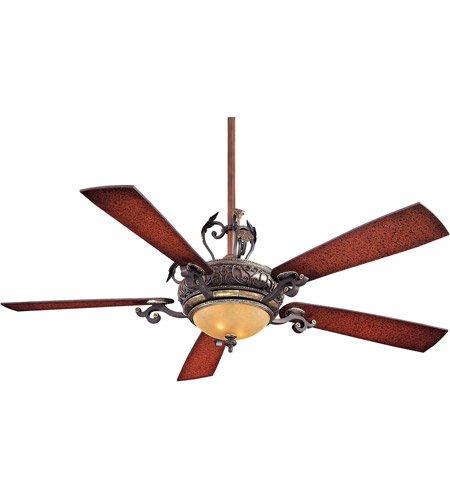 "Minka-Aire F705-STW, Napoli, 56"" Ceiling Fan,  Sterling Waln"