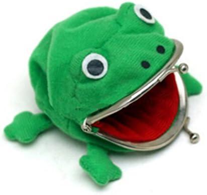 カエル ウォレット グリーン コイン財布素敵なギフト カエル財布