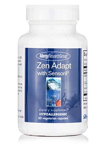 - Allergy Research Group Zen Adapt with Sensoril 60 Vegetarian Capsules
