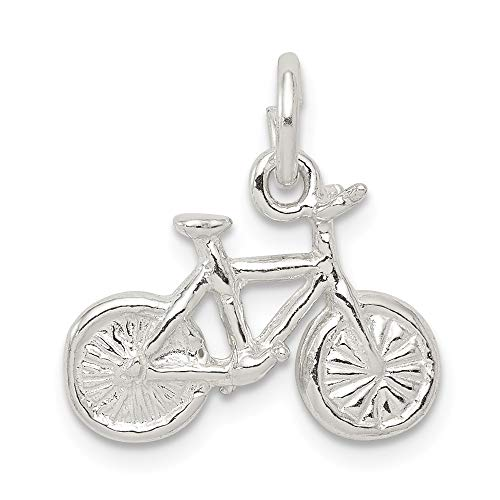 925 Sterling Silver Bicycle...