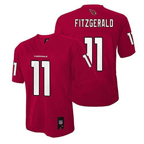 OuterStuff Larry Fitzgerald Arizona Cardinals Red #eleven Toddler 2T-4T Mid-Tier Jersey – DiZiSports Store