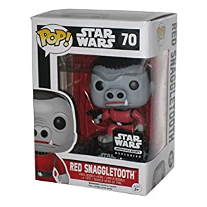 Funko POP! Star Wars Red Snaggletooth Smugglers Bounty Exclusive #70 Vinyl
