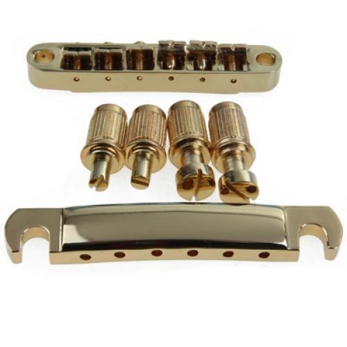 R Oro ABR-1 Puente Tune-o-matic y cordal de parada para Les Paul y Gibson Guitarra SODIAL