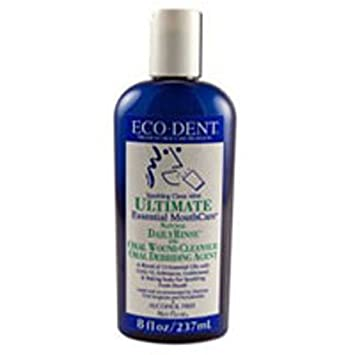 Eco Dent Sparkling Clean Mint Daily Mouth Rinse, 8 Ounce — 6 per case.