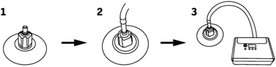 Compresseur Adaptateur Valve pour Canots Bateau Gonflable Kayak Pagaie Accessoire Adaptateur de Vanne dair Multifonction DEDC Adaptateur /à Valve Pompe /à Air