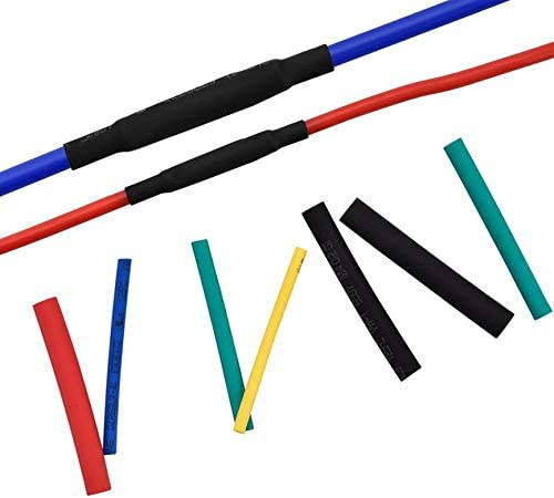couleur: multicolore 530 Pcs Thermor/étractable Tube Assortiment Gaine Disolation De C/âble Fil Gaine Set avec Excellente Protection M/écanique /Électrique