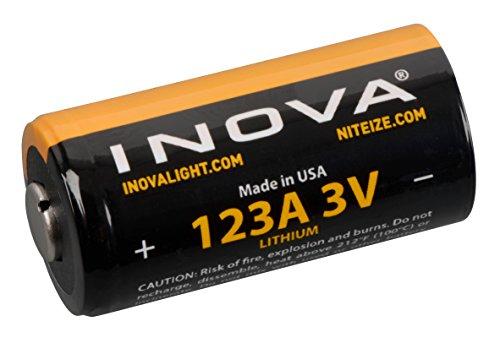 - Nite Ize ILM2-03-123 Inova Lithium Batteries, 2-Pack