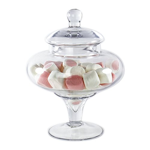 CYS EXCEL Candy Jar, Apothecary Jars, Apothecary Candy Buffet Jar. (H:10