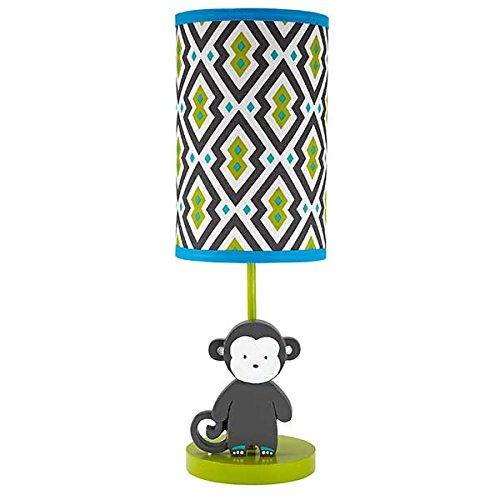 Safari Monkey Lamp Base & Shade