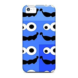 Defender Case For Iphone 5c, Cookies Monsters Pattern