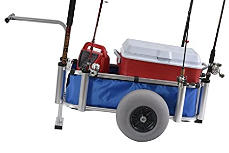 Marine Cart Poly Outdoor Fish Transport Tire Low Pressure Heavy Duty Polyurethan