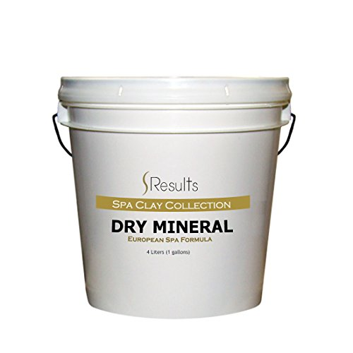 Spa Mineral - European Dry Mineral Body Wrap Salon Formula - 1 gallon (4 liter) by SResults (Image #1)