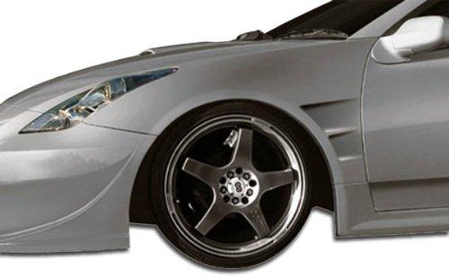 Duraflex ED-WXU-855 GT300 Wide Body Front Fenders - 2 Piece Body Kit - Fits Toyota Celica 2000-2005