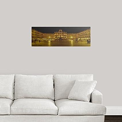 GREATBIGCANVAS Poster Print Entitled Plaza Mayor Castile & Leon Salamanca Spain by 36