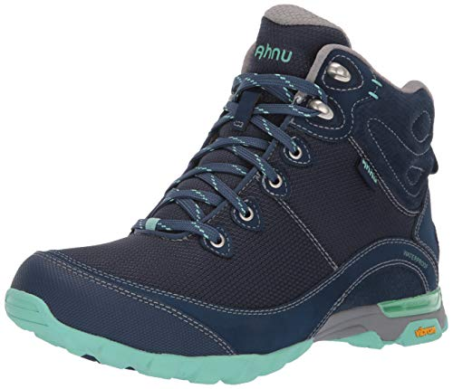 Ahnu Women's W Sugarpine II Waterproof Ripstop Hiking Boot, Insignia Blue, 9 Medium US