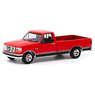 Greenlight 28020-D Anniversary Collection Series 10-1992 Ford F-150-75th Anniversary of Ford Trucks 1/64 Scale: Toys & Games