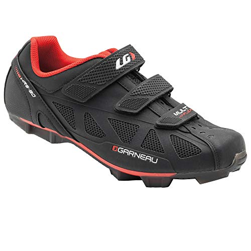 (Louis Garneau Men's Multi Air Flex Bike Shoes for Commuting, MTB and Indoor Cycling, SPD Cleats Compatible with MTB Pedals, Ginger, US (10), EU (44) )