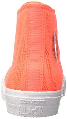 Ii Adulte white 35 Sneakers Orange gum Eu Mixte Ctas hyper Orange Hi Converse wq15BUB