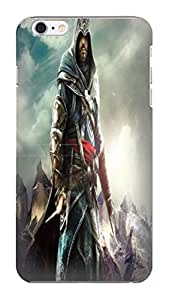 New Style Popular Assassin's Creed fashionable designed lovely pattern TPU phone protection case/cover For iphone 6 Plus