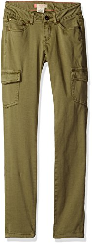 Roxy Big Girls' Rg Cecilcargo Pant, Oil Green, 10 Roxy Apparel