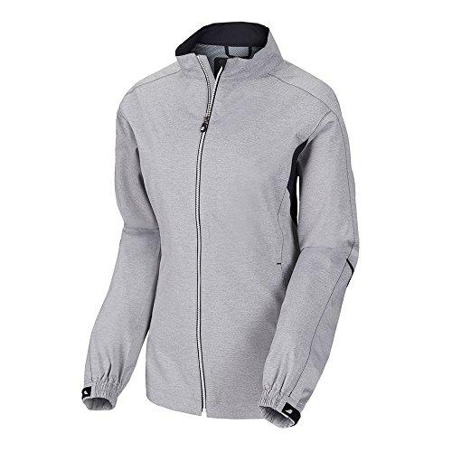 FootJoy Hydrolite Performance Rainwear Golf Jacket 2017 Women Heather Gray Medium from FootJoy