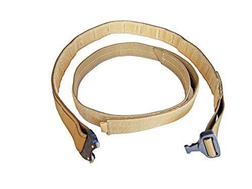 """DLP Tactical 1.5"""" Duplex Cobra Rigger MOLLE Belt (Coyote)"""