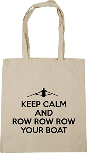 HippoWarehouse Row Natural x38cm 10 Shopping Bag Calm Tote Your Gym litres Row And 42cm Keep Boat Row Beach SrXZTwSq